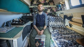 Download Nomad Builds Highly Functional Stealth Camper Conversion from a Ford E350 Work Van. Video