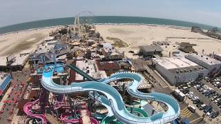 Download New Jersey atlantic city wildwood cape may drone Video