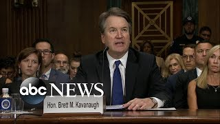 Download Brett Kavanaugh delivers opening statement at hearing Video