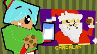 Download Minecraft / Pixel Painters / Milk and Cookies for Big Fat Ho Ho Man / Gamer Chad Plays Video