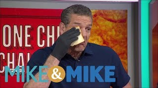 Download Mike & Mike crew does the 'One Chip Challenge' | Mike & Mike | ESPN Video