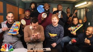 Download Jimmy Fallon, Ed Sheeran & The Roots Sing ″Shape of You″ (Classroom Instruments) Video