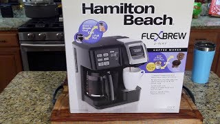 Download Hamilton Beach FlexBrew Coffee Maker Review (Kcups & Pot) Video