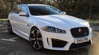 Download Jaguar XF R-S Sportbrake Test Drive Video