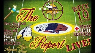 Download The Redskins Report LIVE! Ep 17.10 | WE'RE ALIVE BUT STILL NOT WELL; Home For Vikes | WK 10 vs. MIN Video