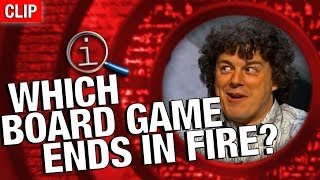 Download QI | Which Board Game Ends In Fire? Video