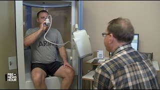 Download Iraq and Afghan war vets exposed to toxic air struggle for breath - and a diagnosis Video