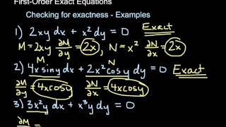 Download Exact Differential Equations - Intro Video