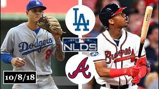 Download Los Angeles Dodgers vs Atlanta Braves Highlights || NLDS Game 4 || October 8, 2018 Video