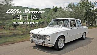 Download 1972 Alfa Romeo Giulia Super through Italy Video