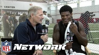 Download Lamar Jackson after Pro Day, ″I'm going to prove them wrong,″ | NFL Network Video
