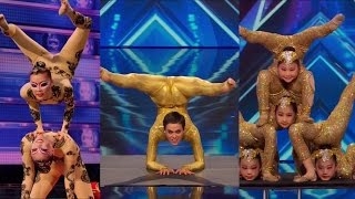 Download America's Got Talent S09E05 Contortionist Compilation Video