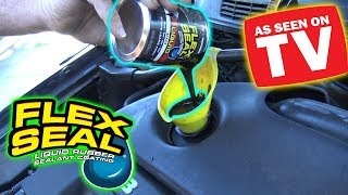 Download Can You Use FLEX SEAL as ENGINE OIL? Video