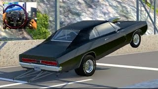 Download BeamNG MODS GoPro Doms Charger Wheelies! + JUMP Contest! Video