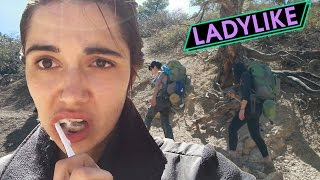 Download Women Backpack Overnight For The First Time • Ladylike Video