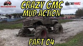 Download CRAZY GMC MEGA TRUCK MUDDING ACTION BEST OF PART 04 Video