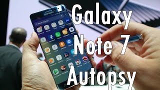 Download Samsung Galaxy Note 7 Autopsy: What caused the battery to explode? Video