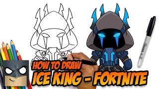 Download How to Draw Fortnite | Ice King | Step-by-Step Video