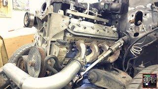 Download Jeep Steering Shaft Mod + Stock LS Manifold Hotside Begins | S10 Turbo 5.3 Build Video