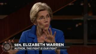 Download Elizabeth Warren: This Fight Is Our Fight   Real Time with Bill Maher (HBO) Video
