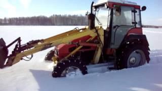 Download ВТЗ 2048А по снегу! Video