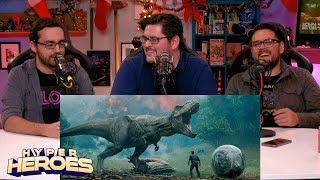 Download Jurassic World: Fallen Kingdom - Official Trailer Reaction Video
