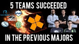 Download 5 teams who succeeded with the previous Majors Video