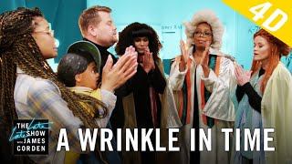 Download 'A Wrinkle in Time' 4D w/ Oprah, Reese Witherspoon & Mindy Kaling Video