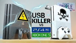 Download USB Killer vs PS4 Pro & Xbox One S - Instant Death? Video