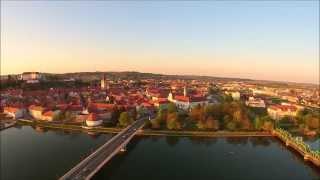 Download Sunset over Ptuj, Slovenia Video