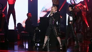 Download Madonna Performs 'Living for Love' Video
