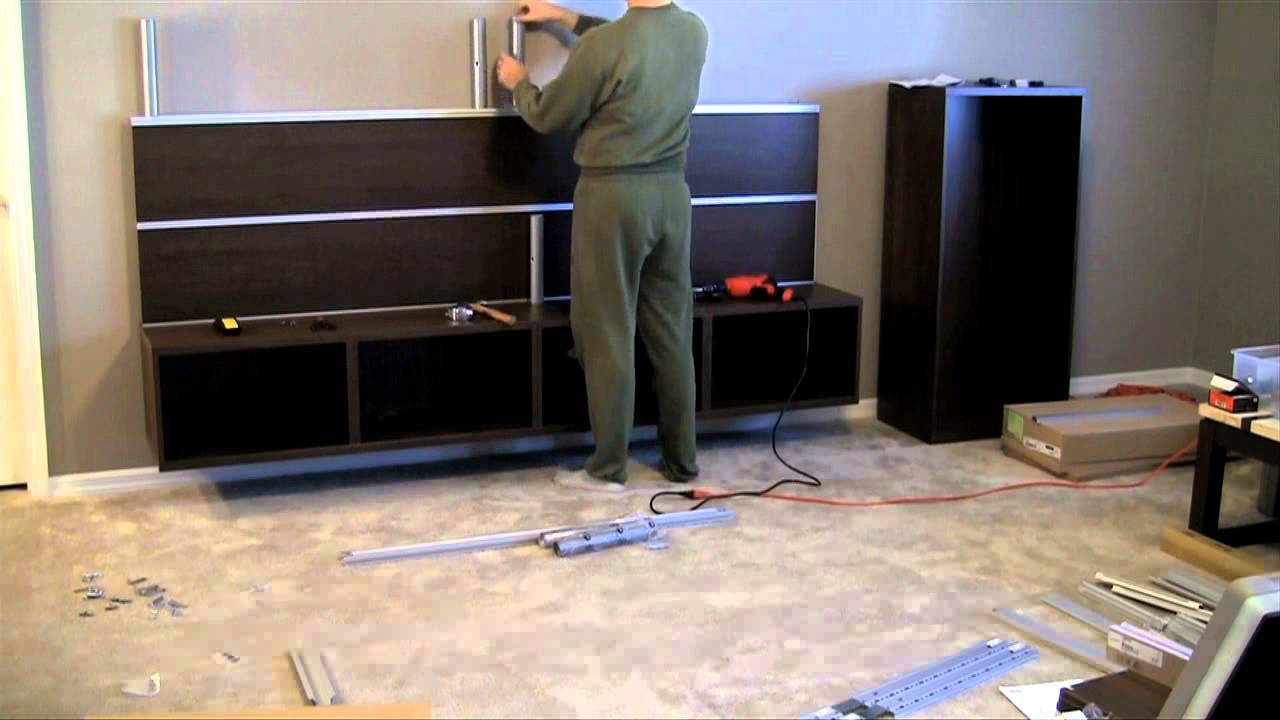 Stream Ikea Besta Framsta Wall Mount Entertainment Center  # Muebles Pikeando