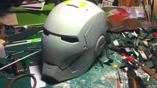 Download Homemade ironman MK3 Helmet/ MASTER.K Video