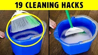 Download 19 Cleaning Hacks That Show How To Clean Better And Faster Video