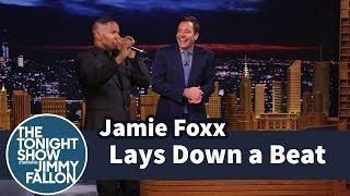 Download Jamie Foxx Lays Down a Beat Video