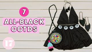 Download 7 Badass All-Black Outfit Ideas | Style Lab Video