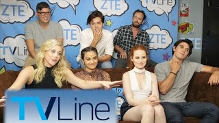 Download Riverdale Interview | TVLine Studio Presented by ZTE | Comic-Con 2016 Video