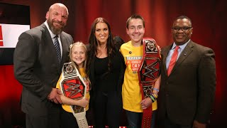 Download Stephanie McMahon and Triple H recognize childhood cancer survivors in partnership with Hyundai Video