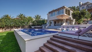 Download Look Inside this Special Sea View Villa for Sale - Footsteps to Puerto Andratx in Mallorca Video