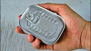 Download Tuna Can Survival Kit Unboxing Video