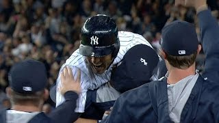 Download Jeter gets walk-off hit in final home game Video