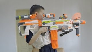 Download Nerf Vs BoomCo - NERF Modulus Fights For The Final Kit Kat! Video