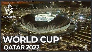 Download World Cup 2022: Qatar inaugurates Al Wakrah Stadium Video