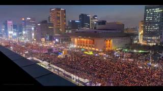 Download Time lapse : 2016 South Korean Protests Video