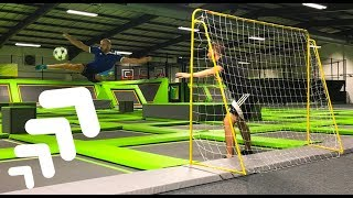 Download INSANE TRAMPOLINE FOOTBALL! Video