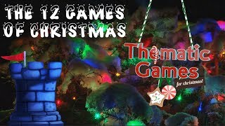 Download The 12 Games of Christmas: Thematic Games Video