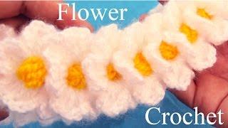 Download Tejido con Ganchillo Crochet como hacer flores Learn Flower Crochet Video