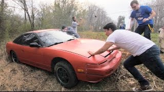 Download We Crashed a Nissan 240sx :( Video