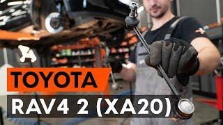 Download Como substituir a tirante da barra estabilizadora dianteiros no TOYOTA RAV4 [TUTORIAL AUTODOC] Video