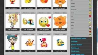 Download Free Smileys, Animated Emoticons for Gmail, Yahoo Mail, Hotmail, Outlook and other web based email Video